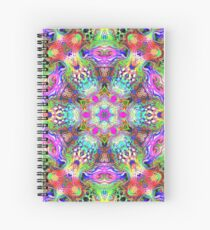Blacklight Spiral Notebook