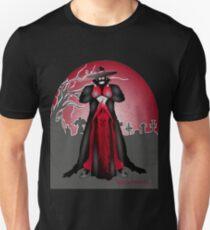 Dark Caped Mortuary Slasher T-shirt Unisex T-Shirt