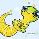 Baby Gecko by Sonya Craig