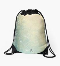 Evening Stroll Drawstring Bag