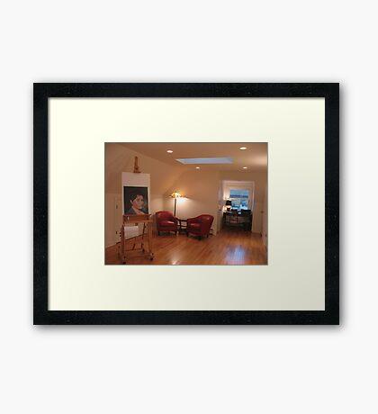 Studio looking South Framed Print