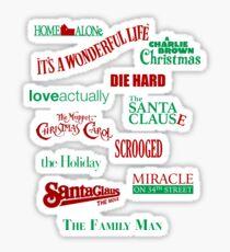 Christmas Movies Sticker