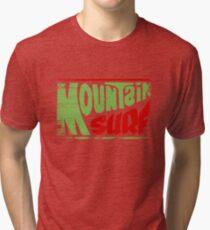 Mountain Surf Logo Tri-blend T-Shirt