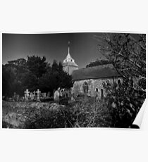 St Mary by Moonlight Poster