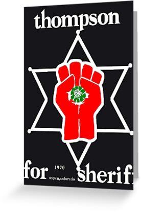Thompson for sheriff 2 for dark by Chris Leader