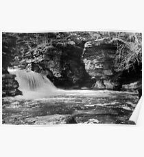 Rickets Glen Waterfalls Poster