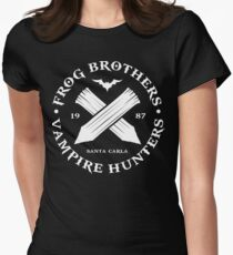 The Lost Boys - Frog Brothers Bros Vampire Hunters Women's Fitted T-Shirt