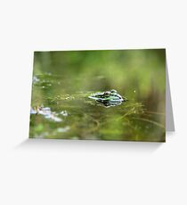 Froggy I Greeting Card