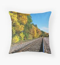 Scenic Railway Throw Pillow