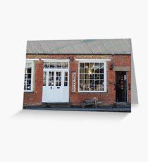 Woodcraft Shop, Richmond in Tasmania Greeting Card