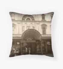 Royal Arcade Melbourme Throw Pillow
