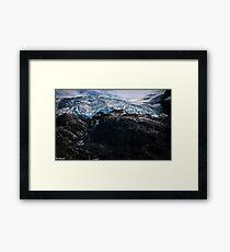 Glaciers! Framed Print