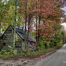 Abandoned on Stowe Mountain Road by Monica M. Scanlan