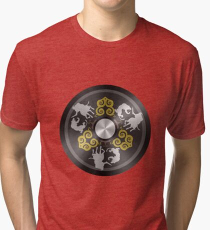 Chinese Mirror Tri-blend T-Shirt