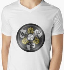 Chinese Mirror Men's V-Neck T-Shirt