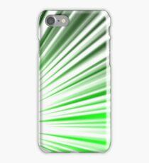 Green Streaks iPhone Case/Skin