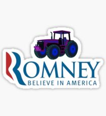 Harvesting Mitt Romney 2012 Sticker