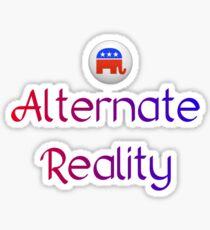 Alternate Reality Mitt Romney 2012 Sticker
