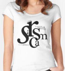 """""""Sarcasm is my only defense"""" - Stiles Stilinski Women's Fitted Scoop T-Shirt"""