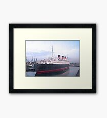 Queen Mary Framed Print