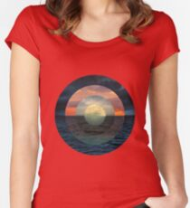 Ocular Oceans Women's Fitted Scoop T-Shirt