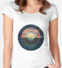 Ocular Oceans Women's Fitted Scoop T-Shirt