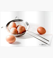 Eggs in one basket...!!! Poster