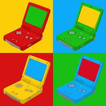 Game Boy Pop Art by icr427