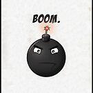 'Boom'// iPhone/iPod case by samdesigns