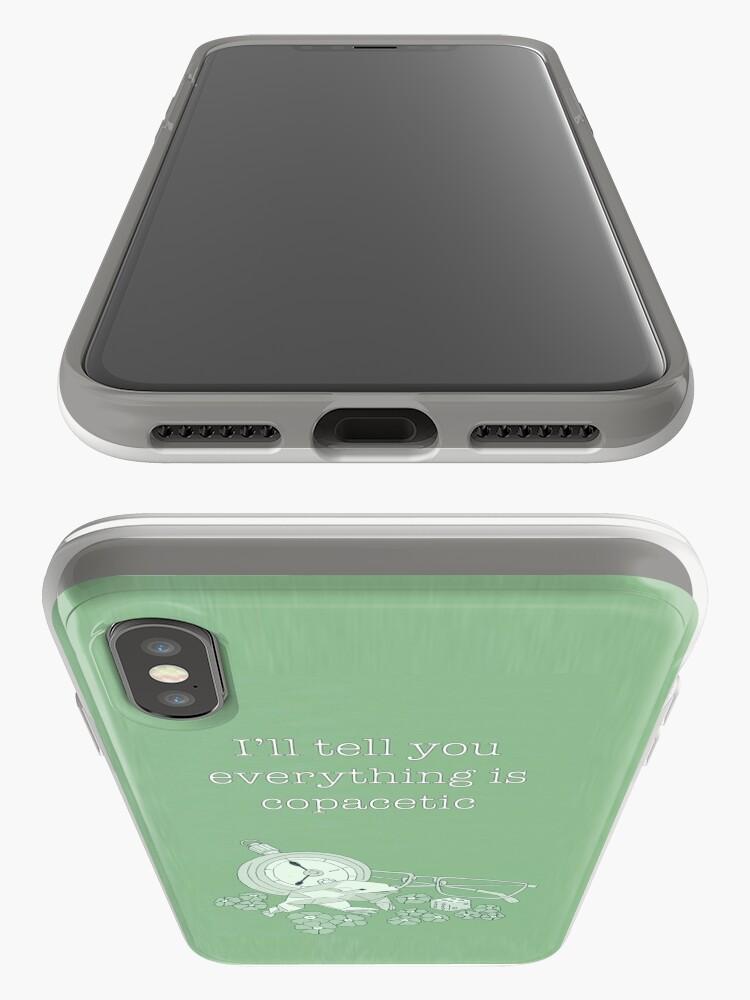 Vista alternativa de Funda y vinilo para iPhone Copacetic
