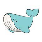 lou, the whale by kimvervuurt