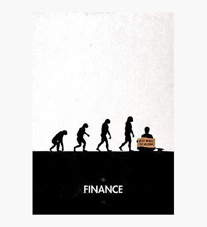 99 Steps of Progress - Finance Photographic Print