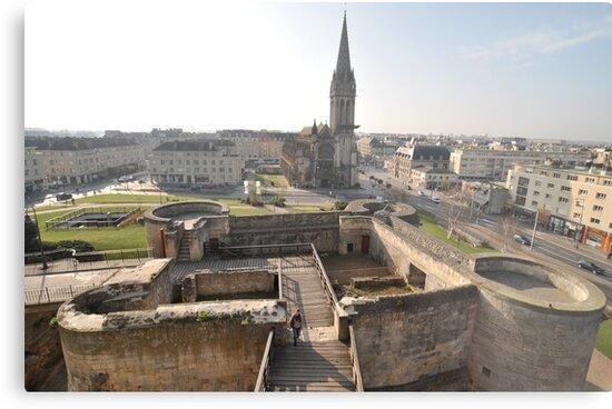 William The Conqueror's Home, Caen, France 2012 by muz2142