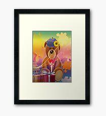 Mr.Teddy Bear Framed Print
