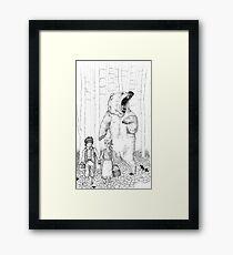 Hansel & Gretel Framed Print