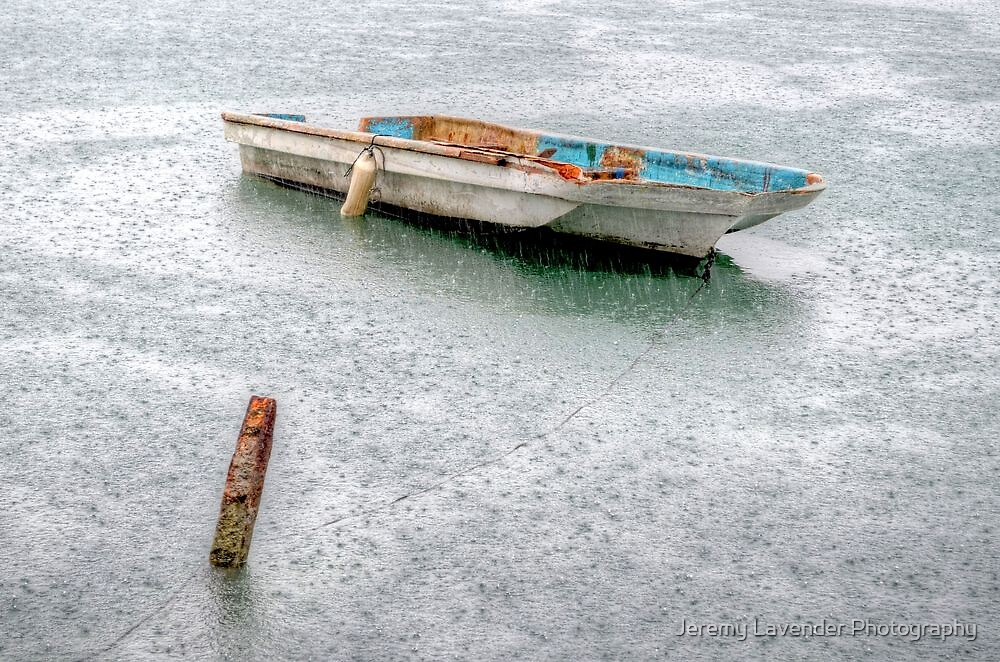 Lonely on a Rainy Day in Nassau Harbour, The Bahamas by Jeremy Lavender Photography