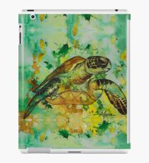 india ink green  iPad Case/Skin