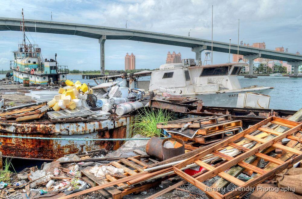 Potter's Cay Docks in Nassau, The Bahamas by Jeremy Lavender Photography