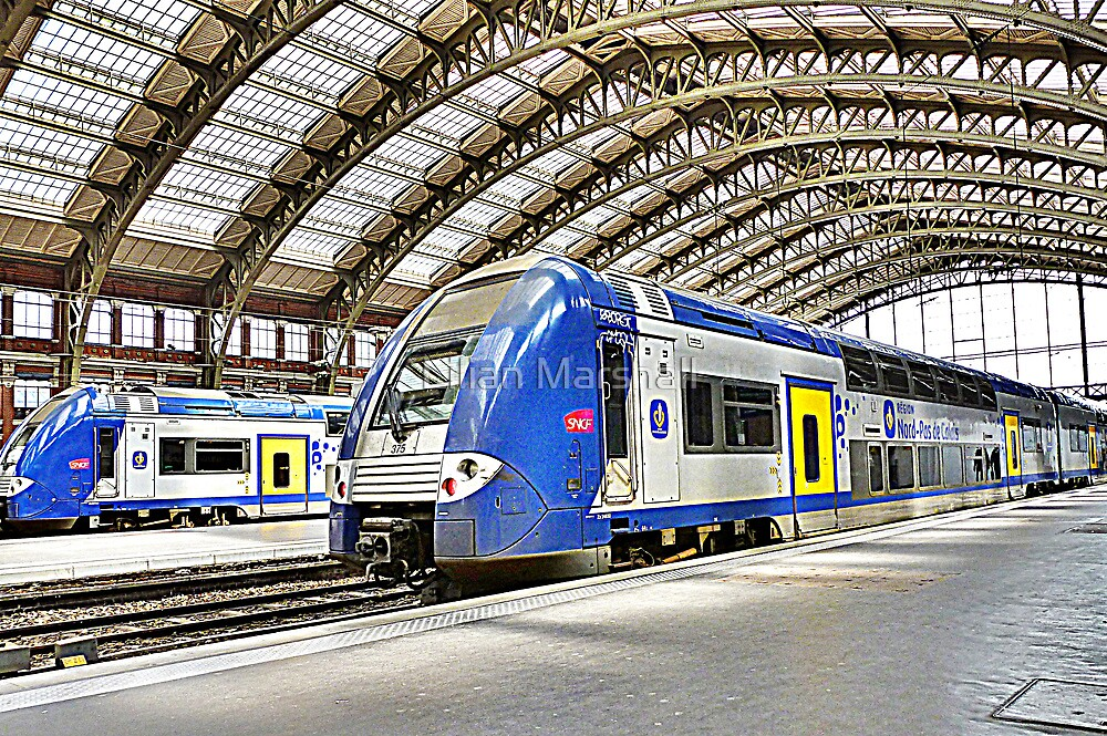 SNCF in Lille by Lilian Marshall