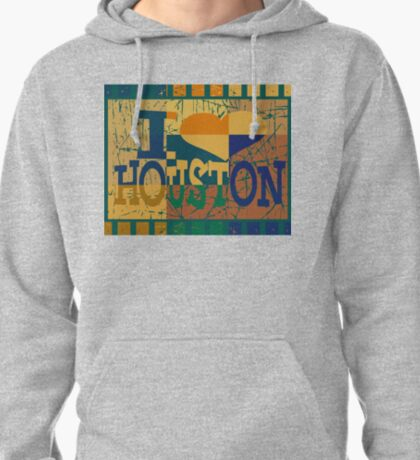 I love Houston and Pop art T-Shirt