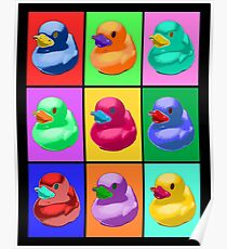 Pop Art Ducky Poster