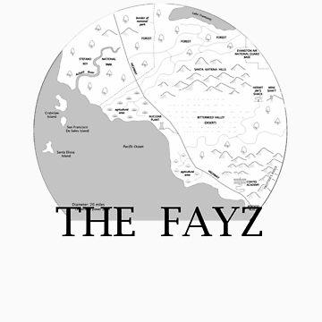 The FAYZ Map by pepsiandnutella