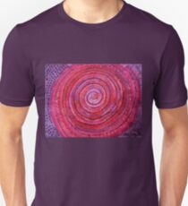 Sits in the Middle & Knows original painting Unisex T-Shirt