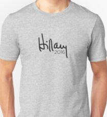 Hillary 2016 Signature T-Shirt