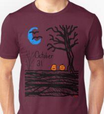 Halloween jack o lantern October 31 Tia Knight T-Shirt