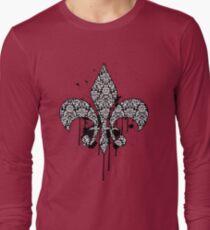 Damask Drips Long Sleeve T-Shirt