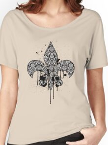 Damask Drips Women's Relaxed Fit T-Shirt