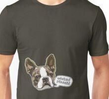Boston Terrier Wicked Pissah Unisex T-Shirt