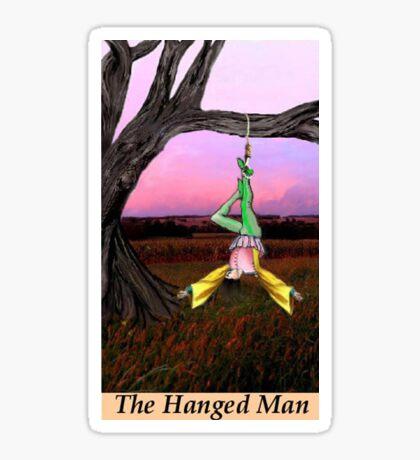 THE HANGED MAN Sticker