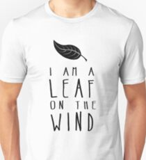 I am a Leaf on the Wind Slim Fit T-Shirt